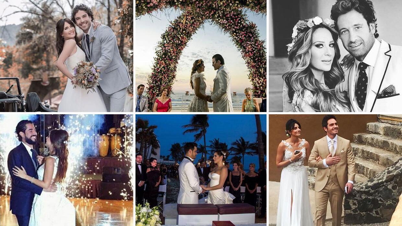 Los famosos de telenovela que se casaron en el 2016