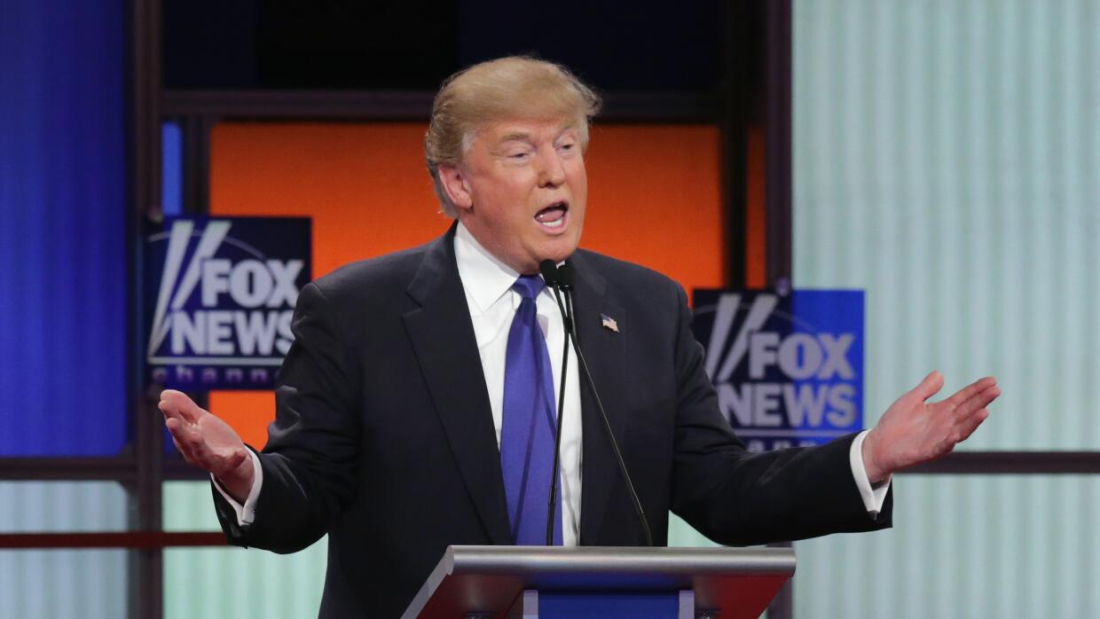 Donald Trump debate republicano