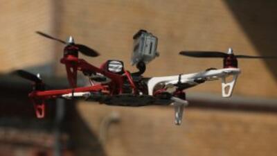 Unos 50 aviones no tripulados de última generación son utilizados por la...