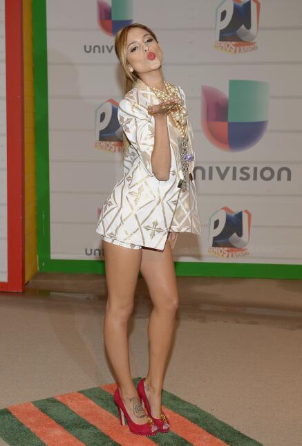 Eiza González se cambió cinco veces de vestido en la noche de los premio...