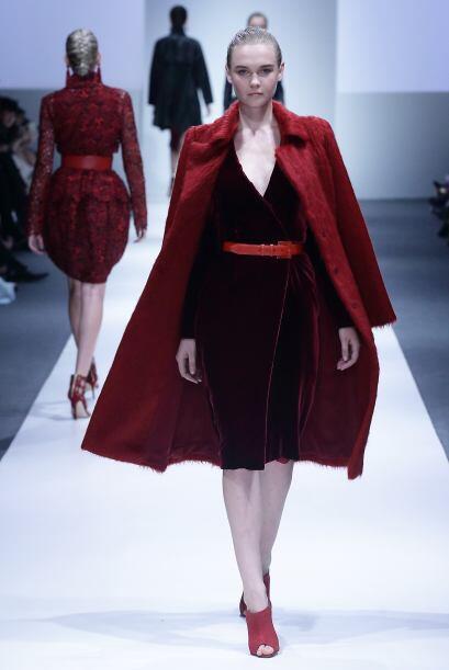 Marsala acaparará todo, lo veremos brillar en mundo de la moda principal...
