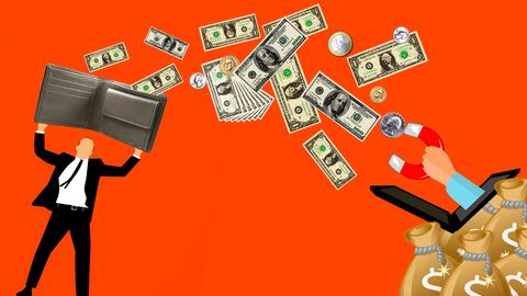 Hay una larga lista de esquemas para separar a la gente de su dinero de...