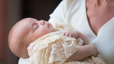 Fotos: así fue el poco concurrido bautismo de Louis, tercer hijo del príncipe William y Kate