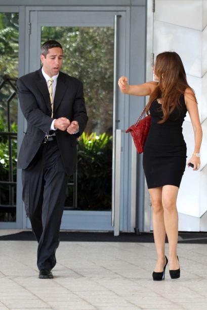 Sofía le reclamaba a gritos cada que podía.