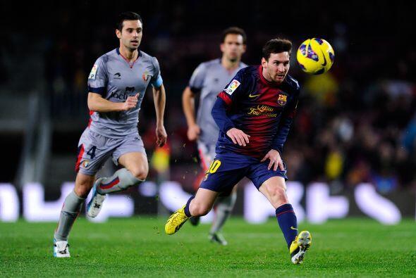 Barcelona jugó como local en la fecha 21 de la Liga españo...
