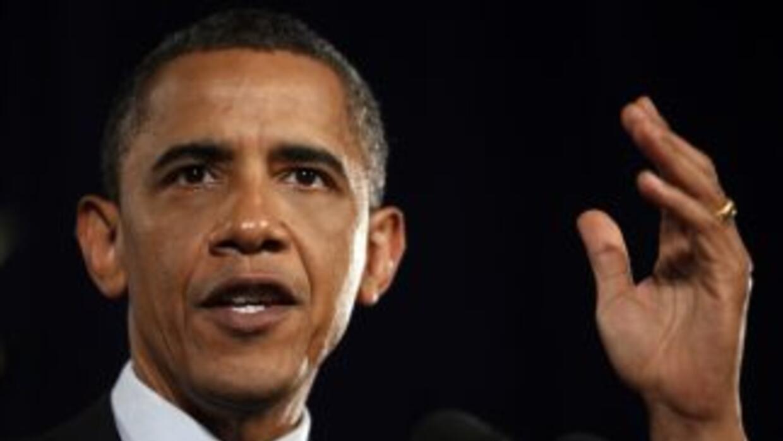 """El presidente Barack Obama dijo sentirse """"decepcionado"""" por el rechazo e..."""