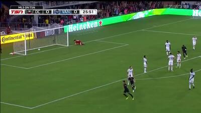 Argentino Yamil Asad hace historia con el primer gol del DC United en su nuevo estadio