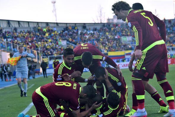 La selección de Venezuela dio la primera sorpresa de la Copa América de...