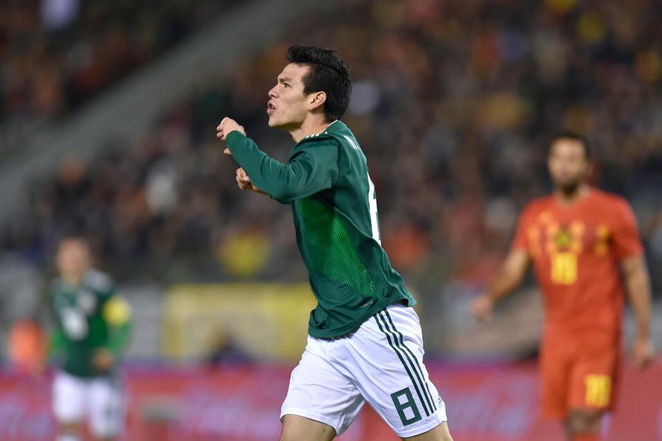 Hirving Lozano (PSV) - 50 partidos jugados (16 con México) y en 3...