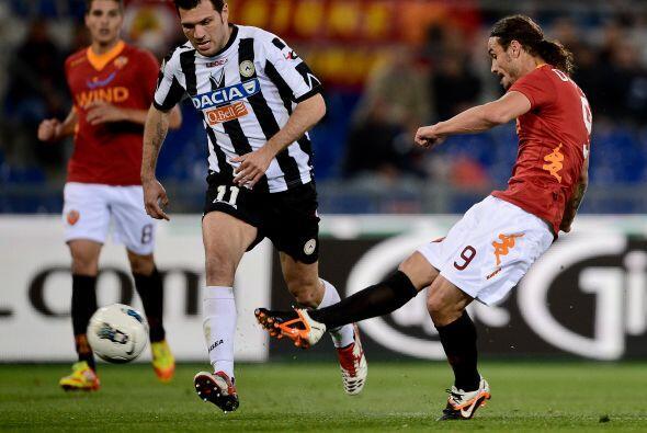 Por su parte, la Roma encaraba un complicado partido ante el Udinese.