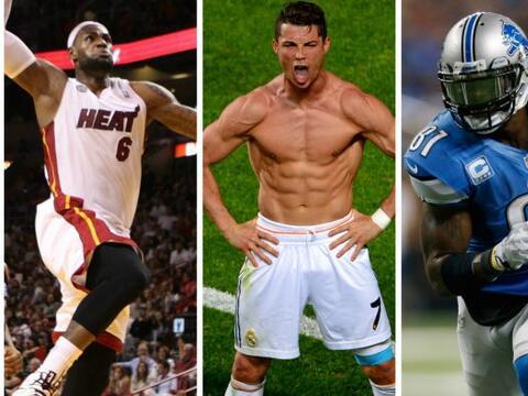 La revista 'Sport Illustrated`publicó una lista de los 50 atletas...