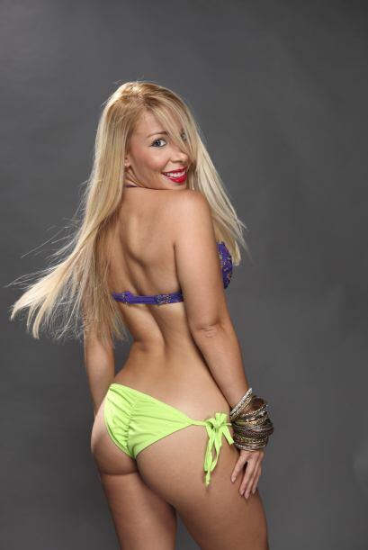 Jennifer de la Rosa, candidata a Miss Pechonalidad