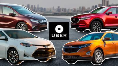 Los mejores carros para trabajar con Uber