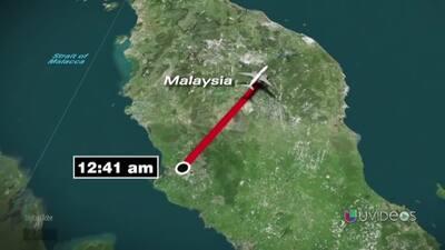 Línea del tiempo: Hora por hora la ruta del avión de Malaysia Airlines