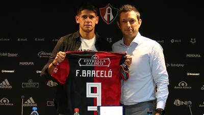 Atlas presentó a Facundo Barceló, su esperanza de gol para el Clausura 2019