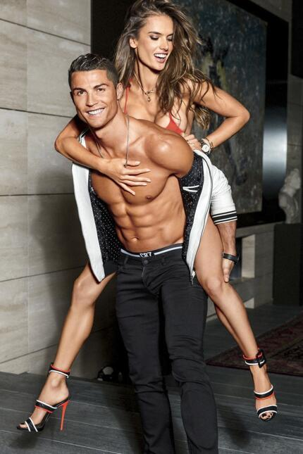 Alessandra y Cristiano