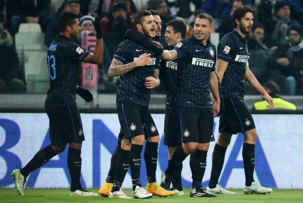 17. Inter de Milán (Italia) 164 millones de euros en ingresos durante la...