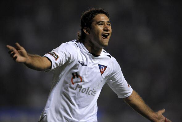 Claudio Bieler, delantero argentino, llegó a tierras ecuatorianas con pe...