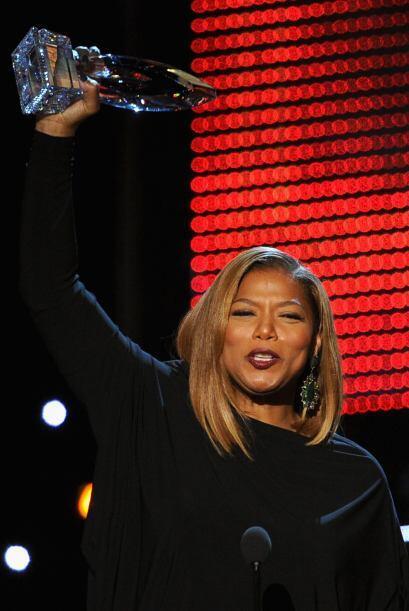 """Queen Latifah ganó en la categoría de Nueva conductora de """"talk show"""" y..."""