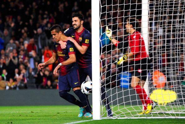 El Barcelona tomaba justa ventaja.