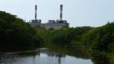 Aspecto actual de la laguna, que gracias al proyecto TermoCartagena ha r...
