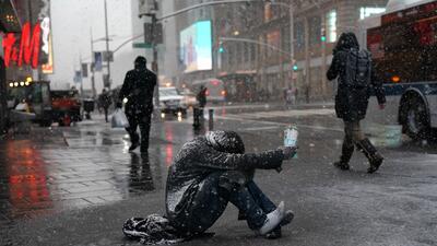 En fotos: La cuarta tormenta de nieve que azota la costa noreste de EEUU en menos de tres semanas