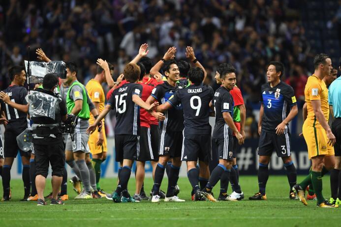 Japón, sin Honda, se unió a los clasificados al Mundial de Rusia 2018 Ge...