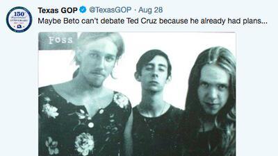 """Republicanos intentan desprestigiar a Beto O'Rourke por su pasado punk y la gente responde: """"Ahora nos gusta más"""""""