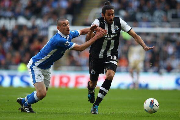 El Newcastle recibió la visita del Wigan en busca de seguir acechando a...