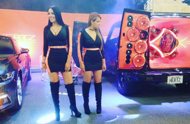 Los espectaculares cuerpos de las Chicas Car Audio en Colombia Captura d...
