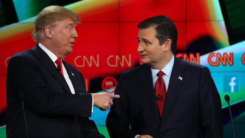 Nueva encuesta a republicanos sitúa a Cruz a solo 4 puntos de Trump Gett...