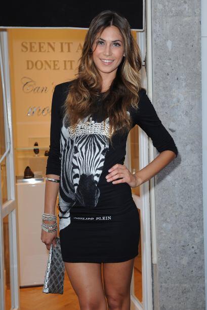 La modelo italiana Melissa Satta esta saliendo con el jugador de la sele...