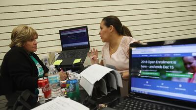 Históricamente los primeros en inscribirse en Obamacare son aquellos que...