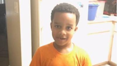 Kingston Frazier, el niño de seis años asesinado.