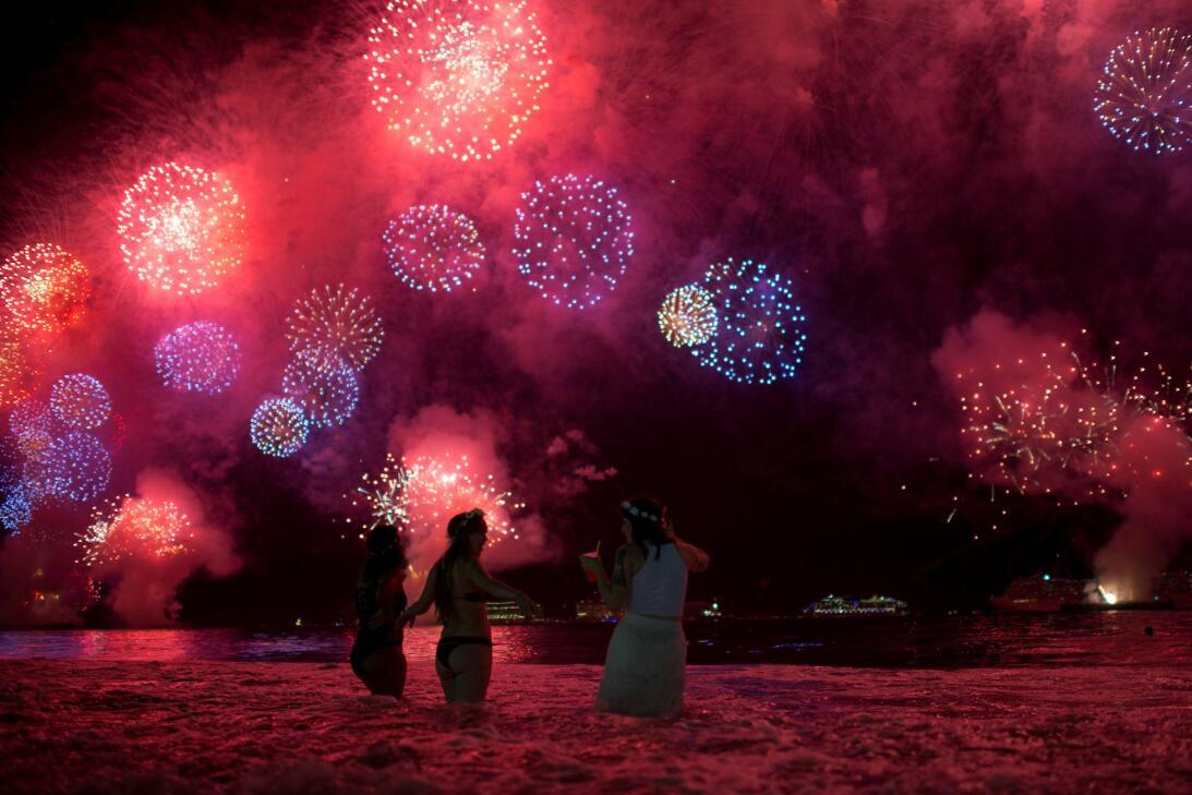 En fotos: ¡Bienvenido, 2018! Así celebró el mundo la llegada del Año Nue...