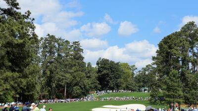 Postales de un grande del golf: el colorido y la naturaleza en el Masters de Augusta