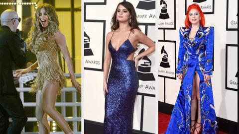 Fashionometro: Los mejor y peor vestidos de la alfombra de los Grammy Aw...