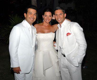 Rodner, amigoRodner Figueroa es uno de los mejores amigos de la pareja....