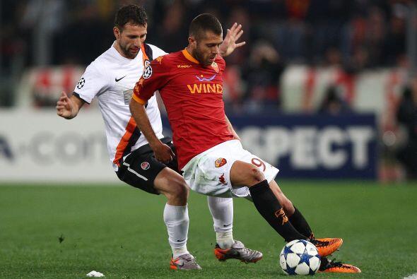 Gracias a un tanto del francés Menez, la Roma sólo cayó por 3-2.