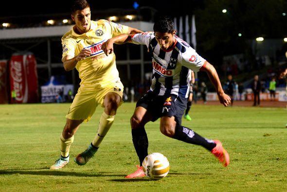 Para la segunda parte del partido Monterrey mostró mayor agresividad al...