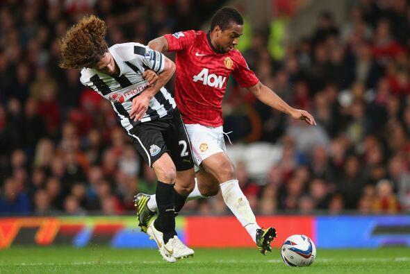 El brasileño Anderson recibió la oportunidad de jugar de inicio y poco a...