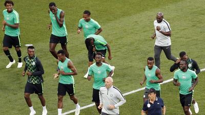 En fotos: Islandia y Nigeria buscarán sacarle jugo al tropezón argentino