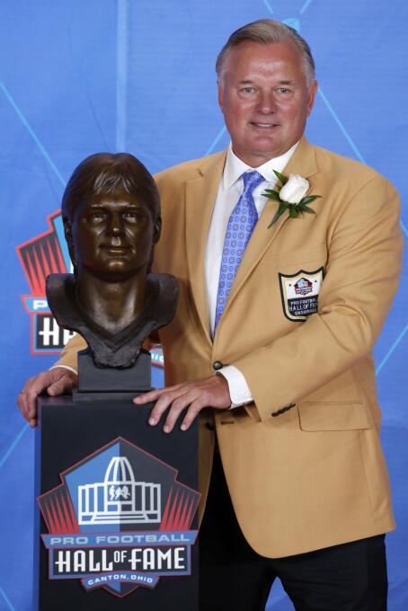 La NFL tiene nuevos 'inmortales' en el Salón de la Fama AP Morten Anders...