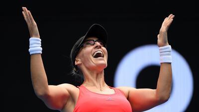 Una veterana, entre las protagonistas en el paso a cuartos de final en el Australian Open