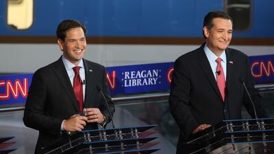 Rubio y Cruz, ¿son cubanos o hispanos?, se pregunta Chris Matthews rubio...