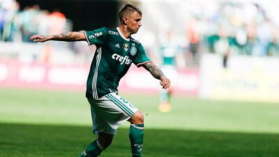 Palmeiras venció 2-0 al América Mineiro y se mantiene de líder en Brasil