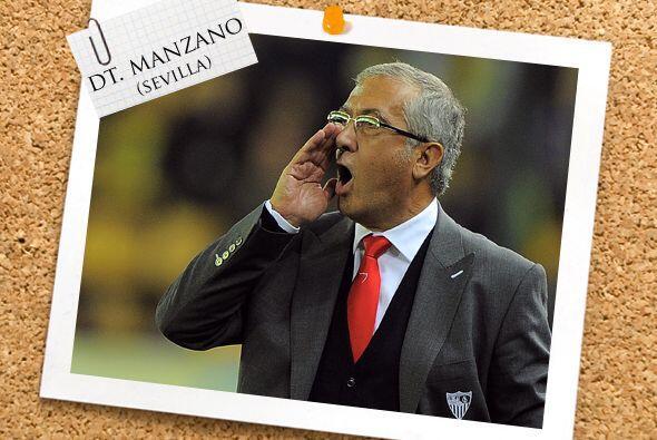 Nuestro once ideal es dirigido por el entrenador Gregorio Manzano del Se...