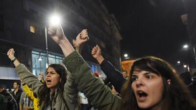 Protesta Bucarest