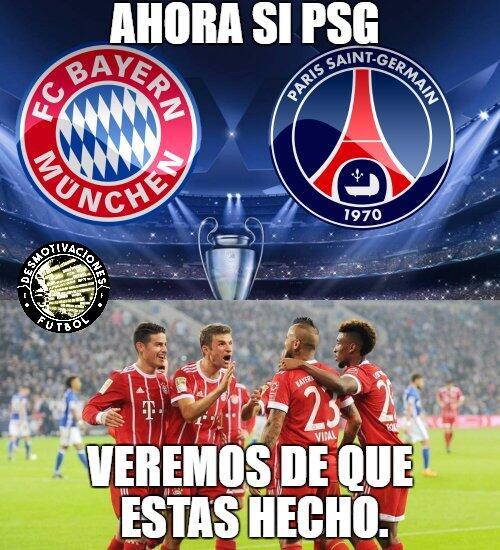 El PSG no tuvo piedad con el Bayern y los memes tampoco dktz9tkvaaeymk5j...