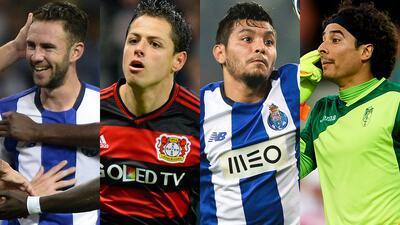 15, la cifra mágica de mexicanos que buscarán brillar en Europa para la temporada 2016-17